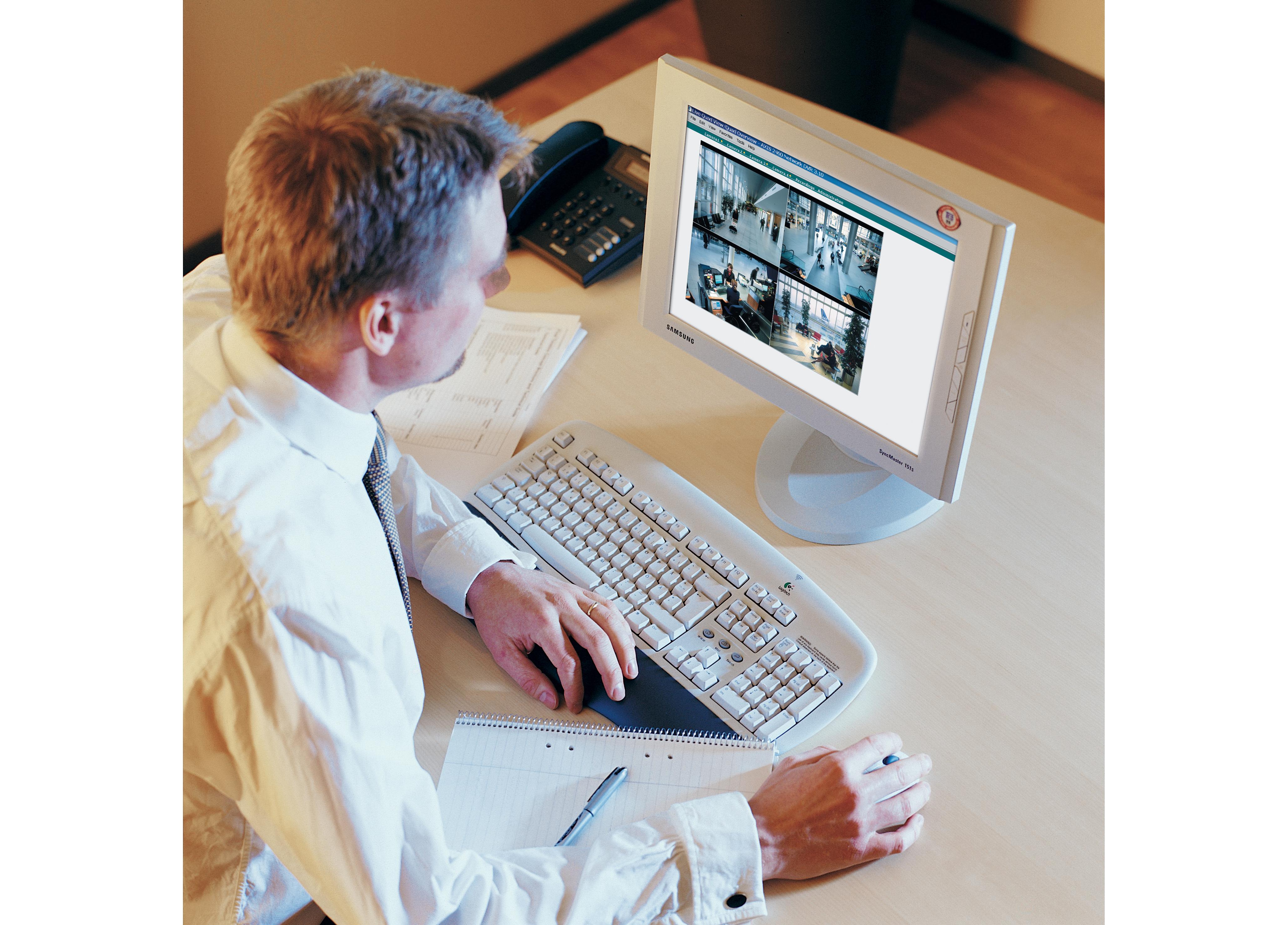Videoövervakning -direkt!